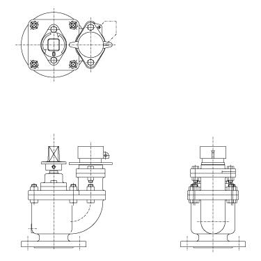 水道用地下式消火栓 JWWA B 103:2000 2種